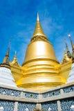 鲜绿色菩萨的Tha寺庙从泰国的 库存照片