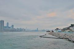 鲤鱼门, kwun钳子香港 免版税库存照片