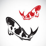鲤鱼koi的传染媒介图象 库存图片
