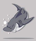 鲨鱼传染媒介 免版税库存图片