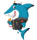 鲨鱼动画片 向量例证
