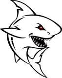 鲨鱼纹身花刺设计 免版税库存图片