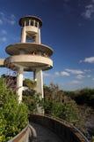 鲨鱼谷观测塔 库存照片