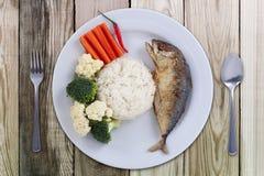 鲭鱼辣椒时髦的food& x28; 泰国food& x29; 免版税库存照片