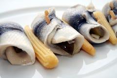 鲱鱼卷 免版税库存图片