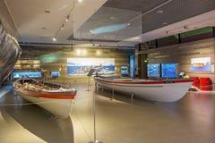 鲸鱼博物馆Museu da Baleia, Canical,马德拉岛 库存照片