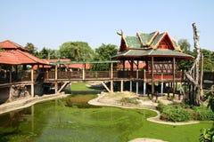 鳄鱼农场在曼谷 免版税图库摄影