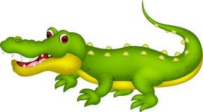 鳄鱼动画片 免版税库存照片