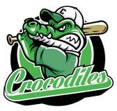 鳄鱼棒球吉祥人