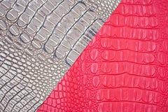 鳄鱼皮肤纹理 免版税图库摄影