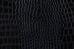 鳄鱼皮革的纹理 免版税库存图片