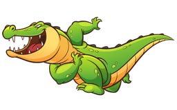 鳄鱼 皇族释放例证