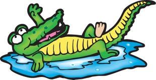 鳄鱼 库存图片