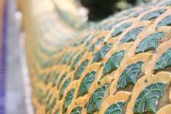 鳞状龙雕象泰国 免版税库存照片