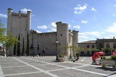 鸟入城堡,西班牙 免版税库存图片