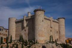 鸟入城堡,西班牙 图库摄影
