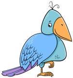 鸟动画片例证 库存图片