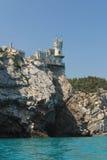 鸟城堡嵌套s 库存照片