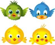 鸟小鸡 向量例证