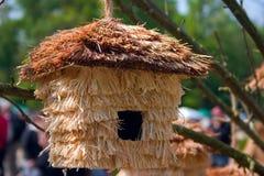 鸟房子 免版税库存图片