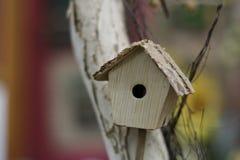 鸟房子 免版税库存照片