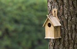 鸟房子 免版税图库摄影