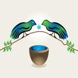 鸟概念 库存图片