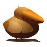 鸟渡渡鸟喜欢海鸥 免版税库存图片