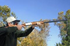 鸟狩猎人 免版税库存图片