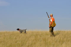 鸟狩猎 图库摄影