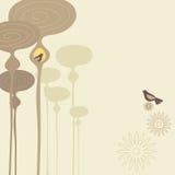 鸟生活 免版税库存照片