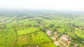鸟瞰图在泰国 库存照片