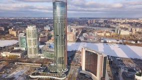 鸟瞰图复杂的公寓和住宅房子邻里 夹子 现代luxery的顶视图 免版税库存图片