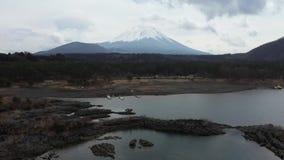 鸟瞰图富士山在日本 影视素材