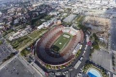 鸟瞰图洛杉矶大剧场 免版税库存图片