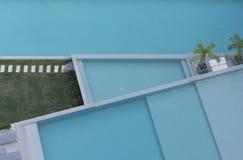 鸟瞰图水池2 免版税库存照片