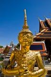 鸟神仙的半人力keaw phra泰国wat 免版税库存图片