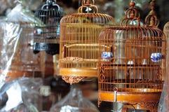 鸟笼汉语 图库摄影
