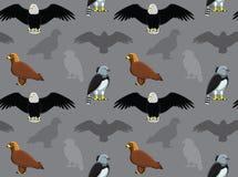 鸟老鹰墙纸 图库摄影