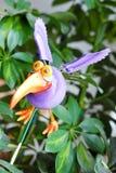 鸟装饰工厂 免版税图库摄影