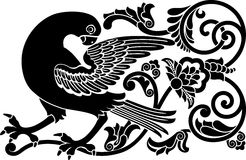 鸟装饰物 库存例证