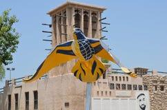 鸟雕塑 图库摄影
