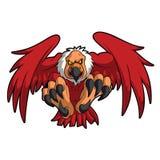 鸟雕鹰神鹰动物传染媒介 向量例证