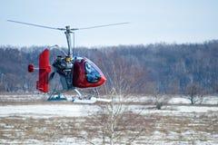 鸟直升机之水平螺旋桨 库存照片