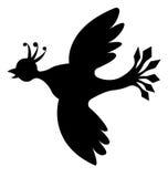 鸟s剪影 库存照片