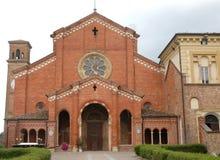 鸠的Clairvaux修道院在帕尔马省的在意大利 免版税图库摄影