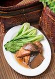 鸡中国人食物 库存照片