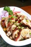 鸡中国人食物 免版税图库摄影