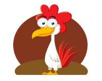 鸡动画片 库存图片