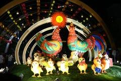 鸡动画片 免版税库存照片